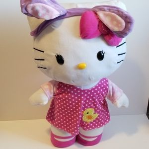 EASTER THEMED FREE STANDING HELLO KITTY PLUSH